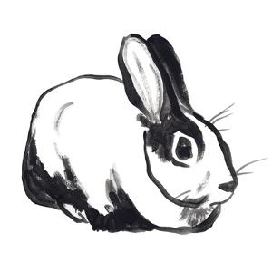 Winter Rabbit I by June Vess