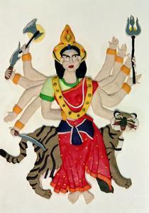 Durga by Jung Sook Nam