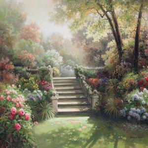 Sunset Garden by Jung Yoon