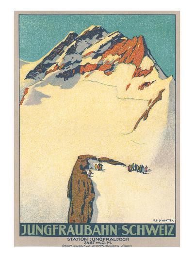 Jungfrau, Swiss Alps--Art Print