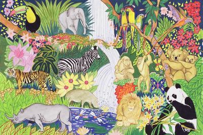 Jungle Animals-Tony Todd-Giclee Print