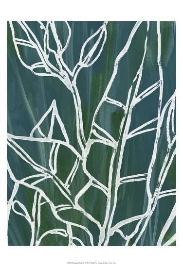 Jungle Batik III-June Erica Vess-Art Print