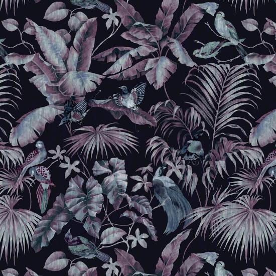 Jungle Canopy Midnight-Bill Jackson-Giclee Print