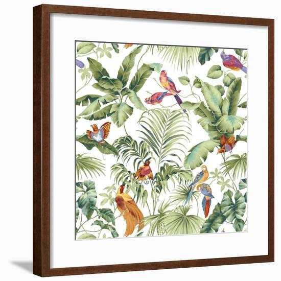 Jungle Canopy Spring-Bill Jackson-Framed Premium Giclee Print