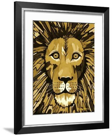 Jungle Cat-Sartoris ART-Framed Giclee Print