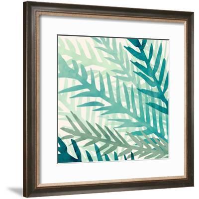 Jungle Flora-Modern Tropical-Framed Art Print