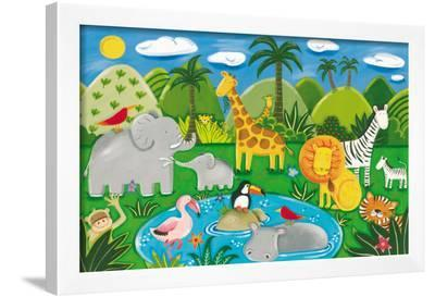 Jungle Fun-Sophie Harding-Framed Giclee Print