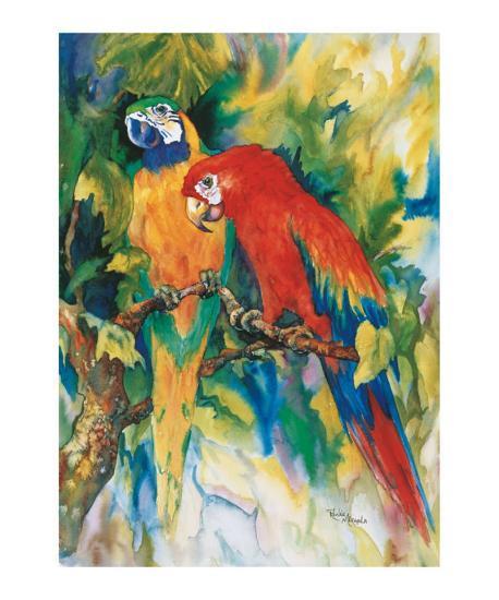 Jungle Gossip-Ren?e Mizgala-Art Print