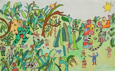 Jungle I-Niki De Saint Phalle-Limited Edition