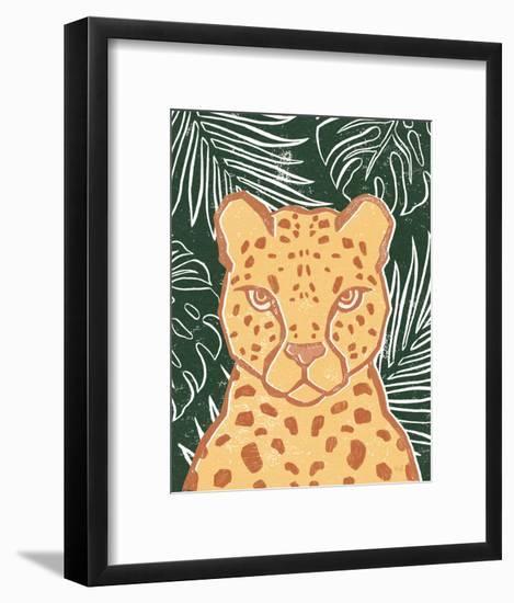 Jungle II Green-Moira Hershey-Framed Art Print