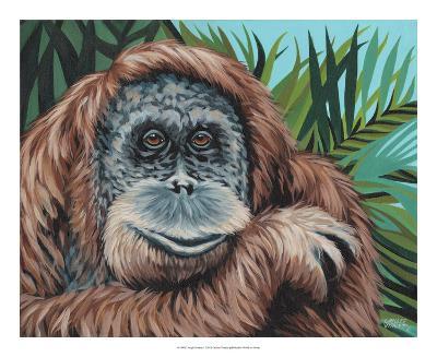 Jungle Monkey I-Carolee Vitaletti-Art Print