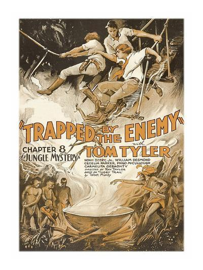Jungle Mystery -Trapped by the Enemy--Art Print