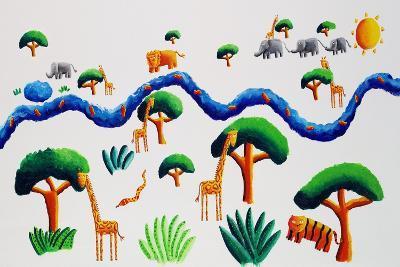 Jungle River, 2002-Julie Nicholls-Giclee Print