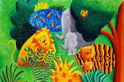Jungle Scene, 2002-Julie Nicholls-Giclee Print
