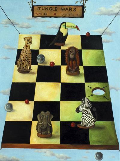 Jungle Wars-Leah Saulnier-Giclee Print