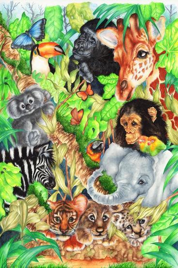 Jungle-Karen Middleton-Giclee Print