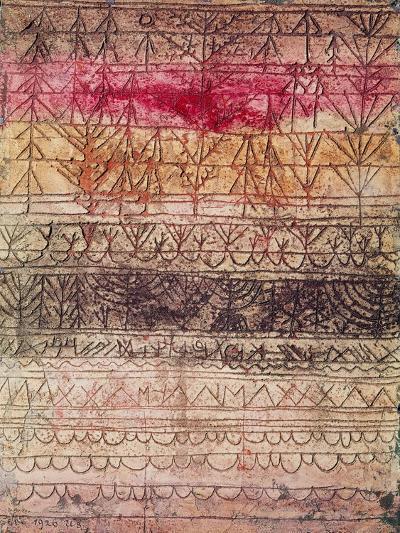 Jungwaldtafel. 1926-Paul Klee-Giclee Print