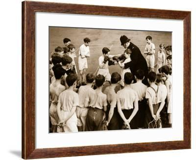 Junior Boxing--Framed Photographic Print