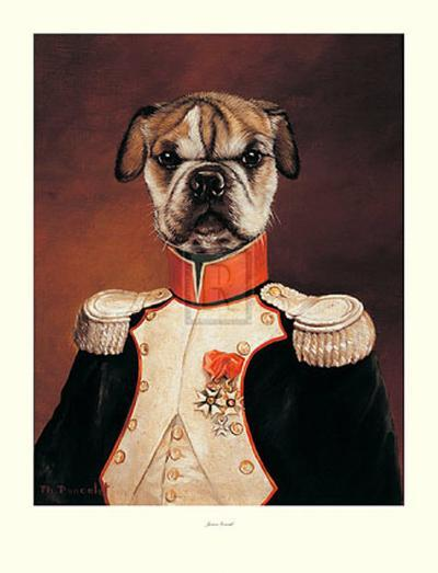Junior General-Thierry Poncelet-Art Print