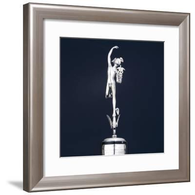 Junior TT Winner's Trophy for 1931--Framed Photographic Print