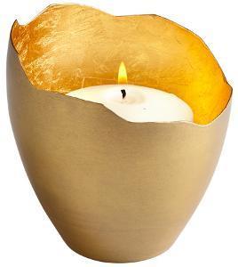 Juno Brass Candleholder