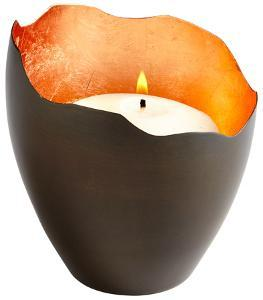 Juno Copper Candleholder