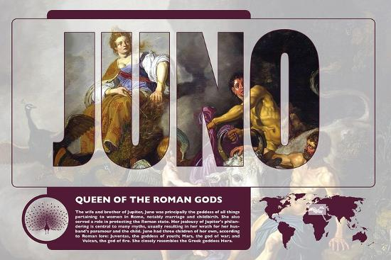 Juno Mythology Poster-Christopher Rice-Art Print