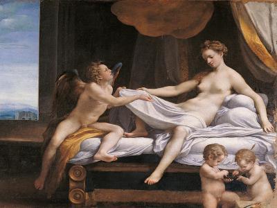 Jupiter and Dana-Correggio-Giclee Print