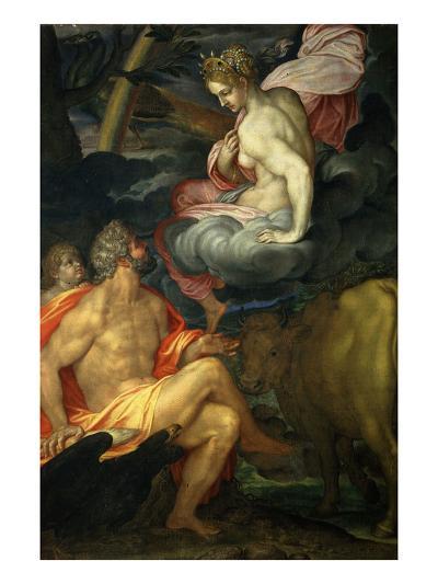 Jupiter and Juno-Ambrogio Figino-Giclee Print