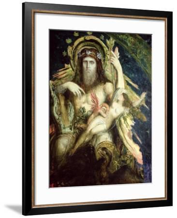 Jupiter and Semele-Gustave Moreau-Framed Giclee Print