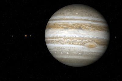Jupiter, Artwork-Detlev Van Ravenswaay-Photographic Print