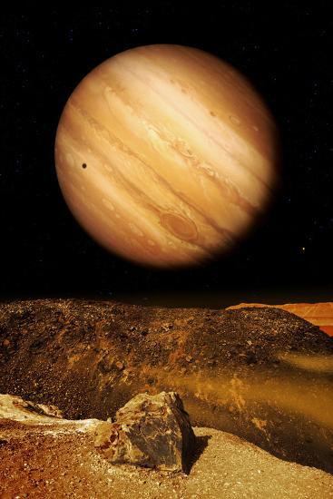 Jupiter From Io-Detlev Van Ravenswaay-Photographic Print