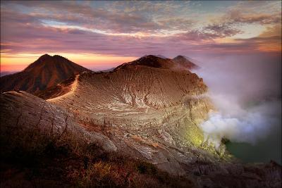 Jupiters Sulphur Mines-Phil Green-Photographic Print