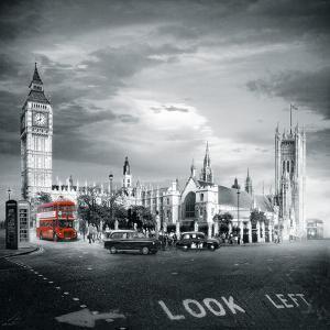 London Bus II by Jurek Nems
