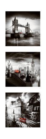 London Bus Triptych I