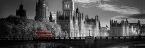 London Bus V by Jurek Nems