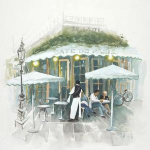 Café De Paris Afternoon by Jurgen Gottschlag