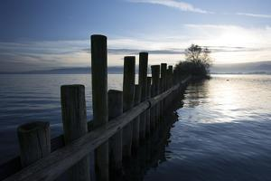 Palisades by Lake of Constance by Jurgen Ulmer