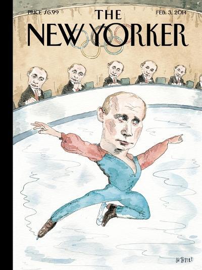 Jury of His Peers - The New Yorker Cover, February 3, 2014-Barry Blitt-Premium Giclee Print