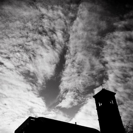 Jusdon and Clouds-Evan Morris Cohen-Photographic Print