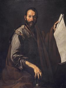 A Philosopher, C.1640 by Jusepe de Ribera
