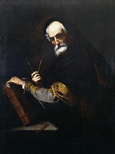 A Philosopher by Jusepe de Ribera