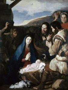 Adoration of the Sheperds, 1650 by Jusepe de Ribera