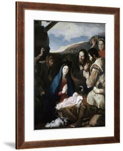 Adoration of the Sheperds, 1650 by Jusepe de Ribera
