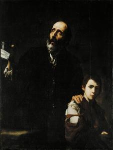 Blind Old Beggar, C.1632 by Jusepe de Ribera