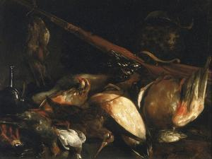 Dead Birds and Arquebus, Uffizi Gallery, Florence by Jusepe de Ribera