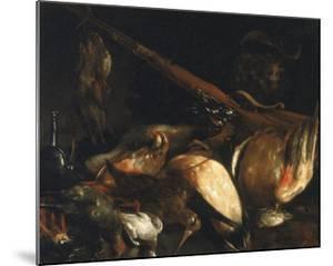 Dead Birds and Arquebus, Uffizi Gallery, Florence by Jusepe de Ribera