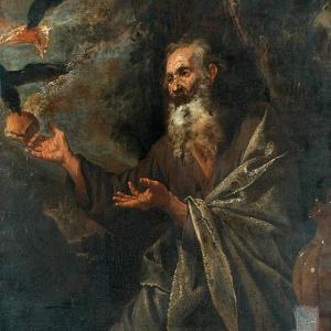 Elijah Fed By The Ravens by Jusepe de Ribera