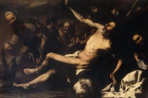 Martyrdom of Saint Bartholomew, Palatine Gallery, Pitti Palace by Jusepe de Ribera