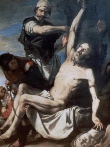 Martyrdom of St Bartholomew, 1644 by Jusepe de Ribera